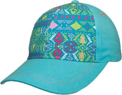 Turkusowa czapka yoclub z bawełny