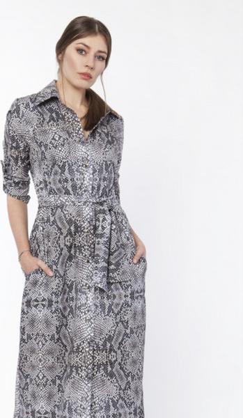 Turkusowa sukienka Lanti