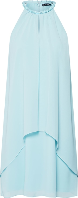 Turkusowa sukienka Vera Mont w stylu casual oversize mini