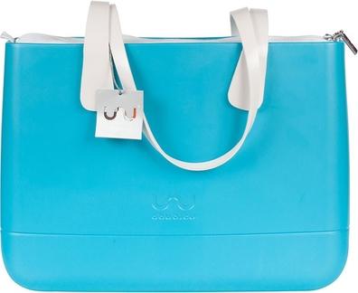 Turkusowa torebka Doubleu Bag do ręki