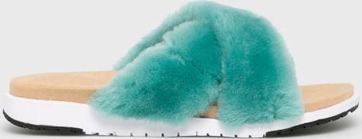 Turkusowe klapki Emu Australia