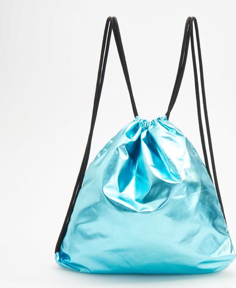 Turkusowy plecak Reserved