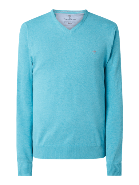 Turkusowy sweter Fynch Hatton
