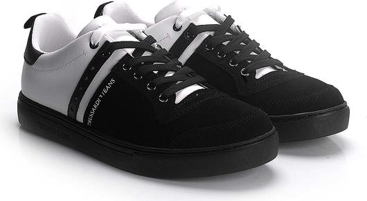 ubierzsie.com Trussardi Jeans Sneakersy czarne ULpml1lj