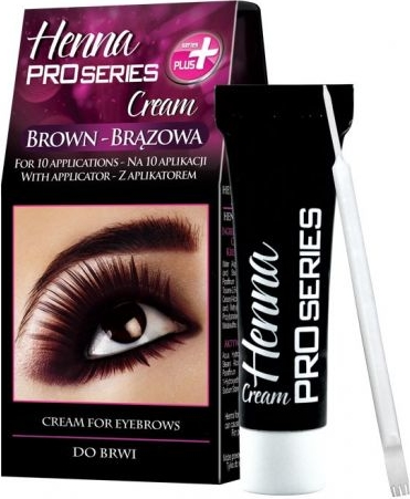 Verona Henna do brwi w kremie brąz 15 ml