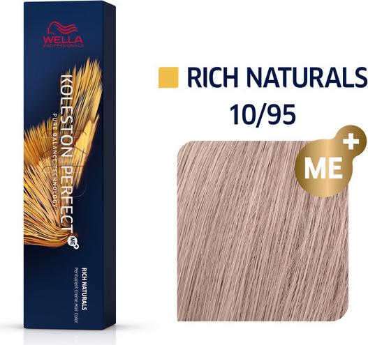 Wella Koleston Perfect ME+   Trwała farba do włosów 10/95