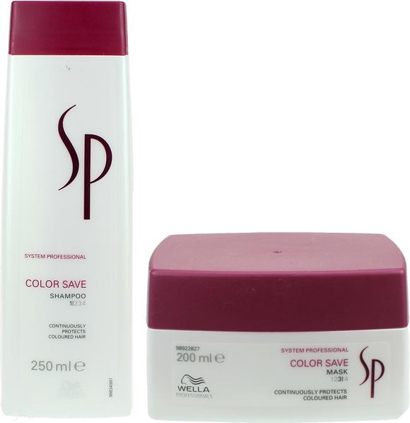 Wella SP Color Save Zestaw do włosów farbowanych | Szampon 250ml + Maska 200ml - Wysyłka w 24H!