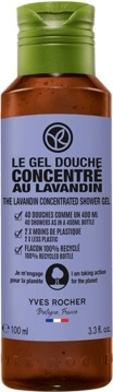 Yves Rocher Skoncentrowany żel pod prysznic Lawenda
