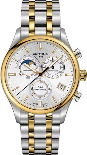 ZEGAREK CERTINA Certina DS 8 Chrono Moon Phase UCE/1688