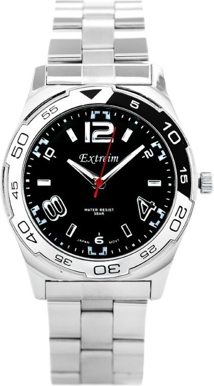 ZEGAREK MĘSKI EXTREIM EXT-Y011B-3A (zx096b) - Srebrny