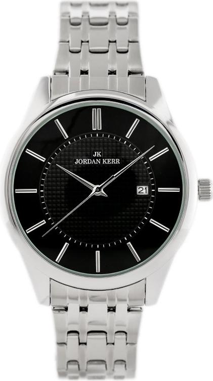 ZEGAREK MĘSKI JORDAN KERR - AW284 (zj091b) - Srebrny