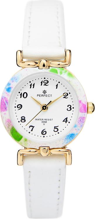 Zegarek na komunię damski PERFECT - LP004-2A -kolorowy
