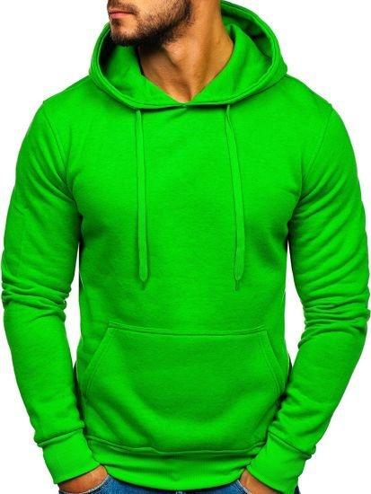 Zielona bluza Denley z bawełny