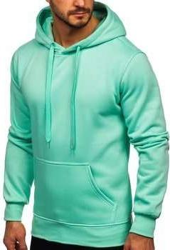 Zielona bluza Denley z dresówki