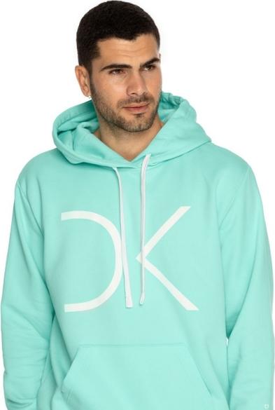 Zielona bluza DKDreskod z bawełny