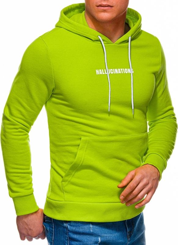 Zielona bluza Edoti z bawełny w młodzieżowym stylu