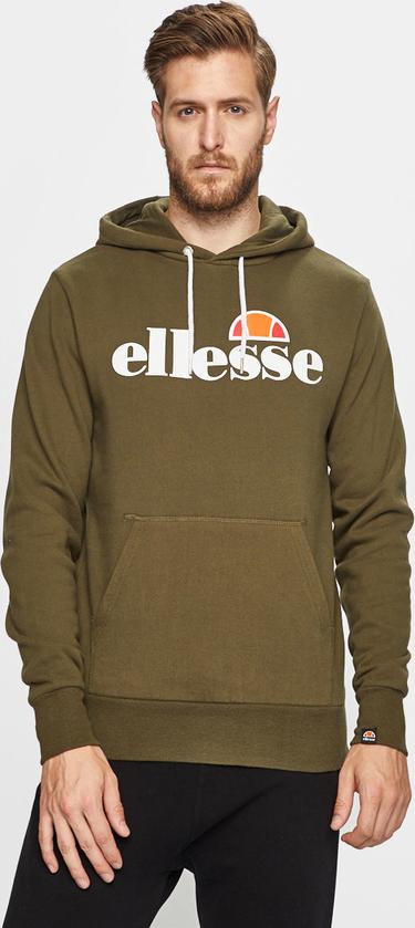 Zielona bluza Ellesse z bawełny