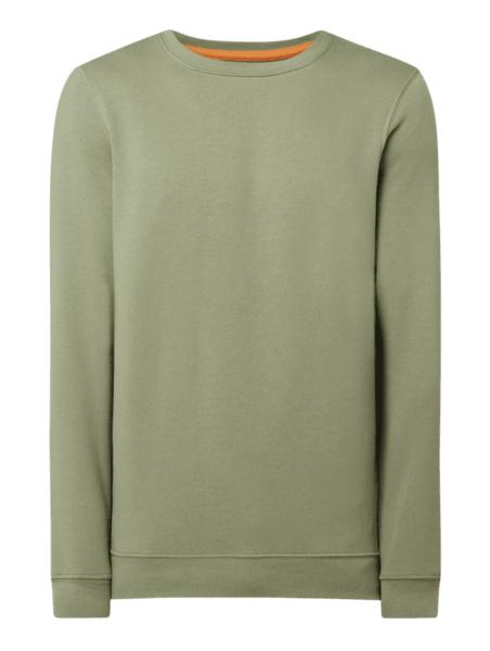 Zielona bluza McNeal z bawełny w stylu casual