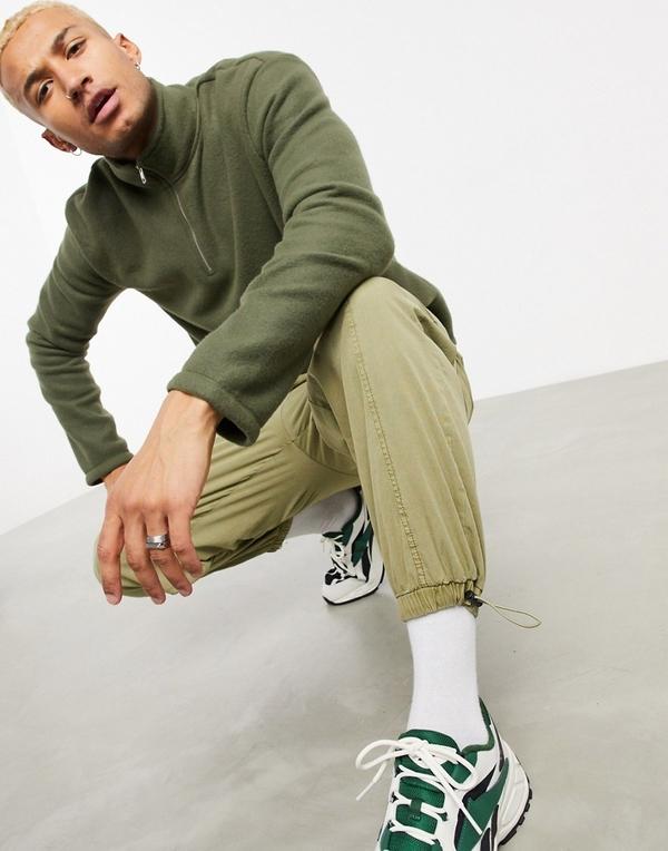 Zielona bluza New Look z plaru
