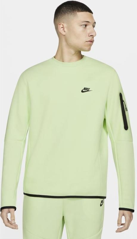 Zielona bluza Nike w sportowym stylu z plaru