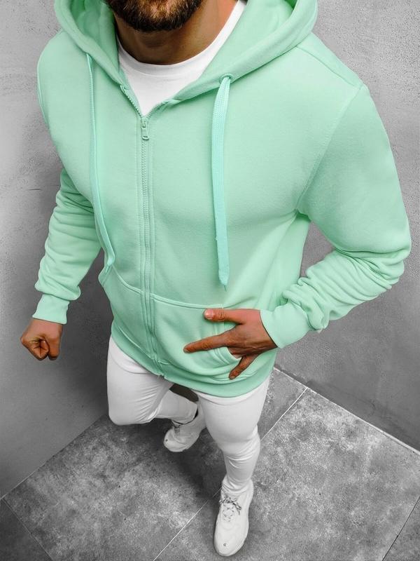 Zielona bluza ozonee.pl w młodzieżowym stylu