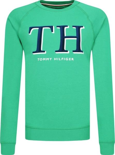 Zielona bluza Tommy Hilfiger
