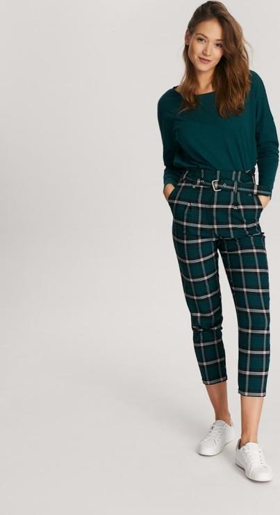 Zielona bluzka Diverse w stylu casual