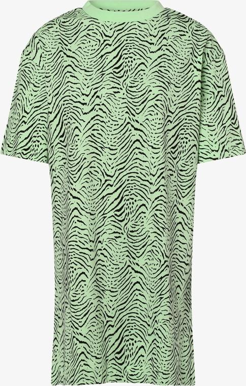 Zielona bluzka EDITED z krótkim rękawem z okrągłym dekoltem