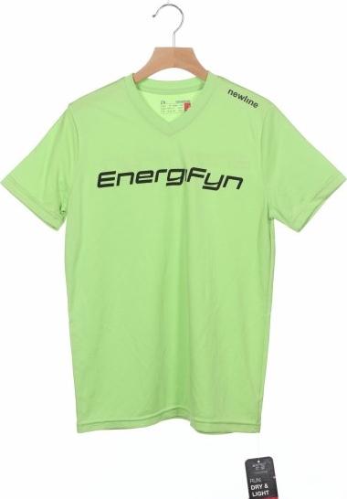Zielona bluzka Newline z bawełny z krótkim rękawem