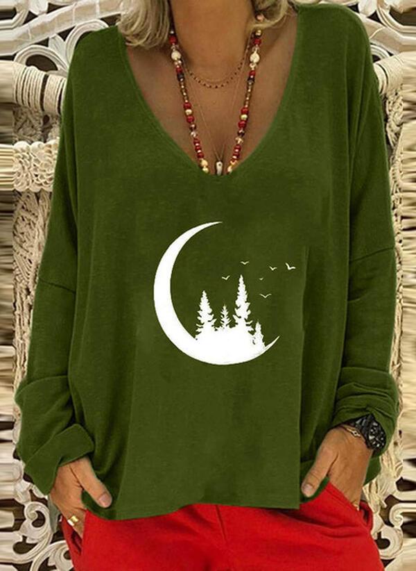 Zielona bluzka Sandbella z tkaniny