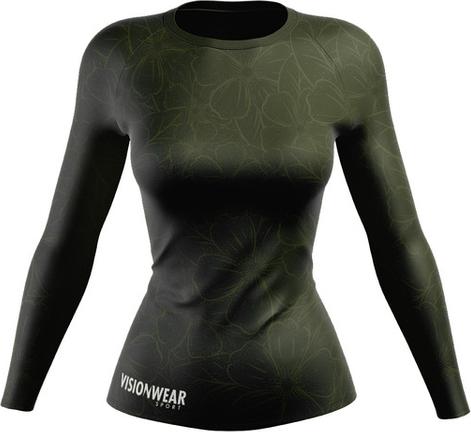 Zielona bluzka Vision Wear Sport z tkaniny