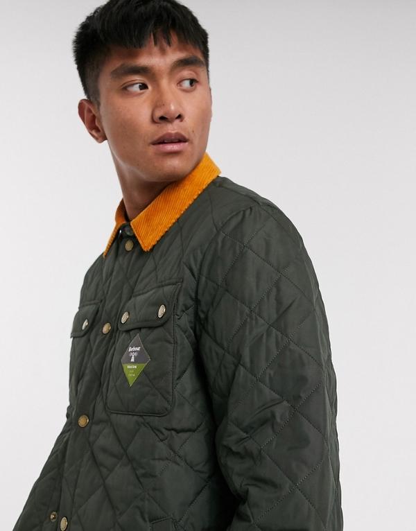 Zielona kurtka Barbour Beacon