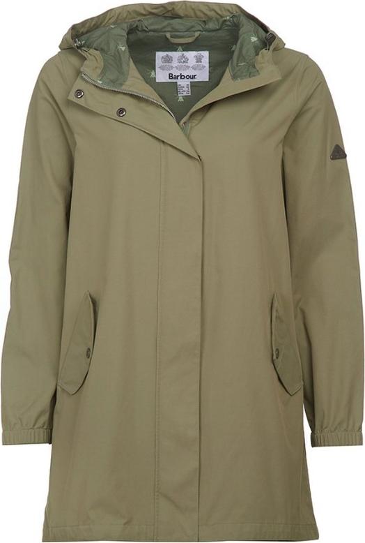 Zielona kurtka Barbour długa
