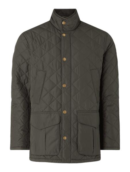 Zielona kurtka Barbour w stylu casual