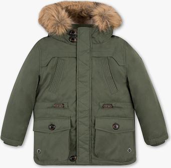 Zielona kurtka dziecięca Palomino z bawełny