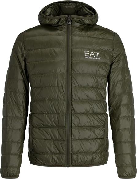 Zielona kurtka EA7 Emporio Armani