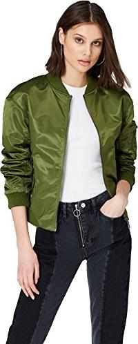 Zielona kurtka Find krótka