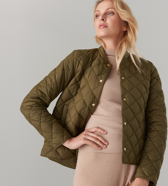 Zielona kurtka Mohito w stylu casual