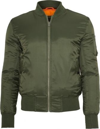 Zielona kurtka Urban Classics w stylu casual