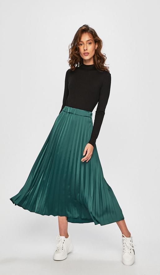 Zielona spódnica Answear midi
