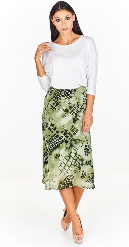 Zielona spódnica Fokus