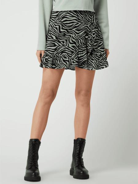 Zielona spódnica Review w stylu casual