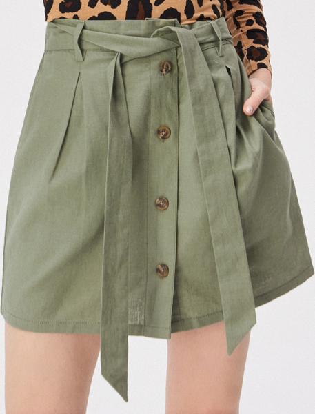 Zielona spódnica Sinsay midi