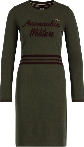 Zielona sukienka Aeronautica Militare