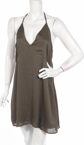 Zielona sukienka Firetrap mini bez rękawów