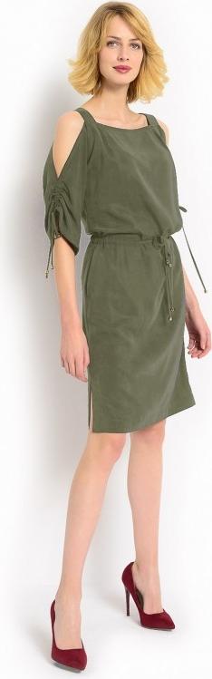 Zielona sukienka potis & verso