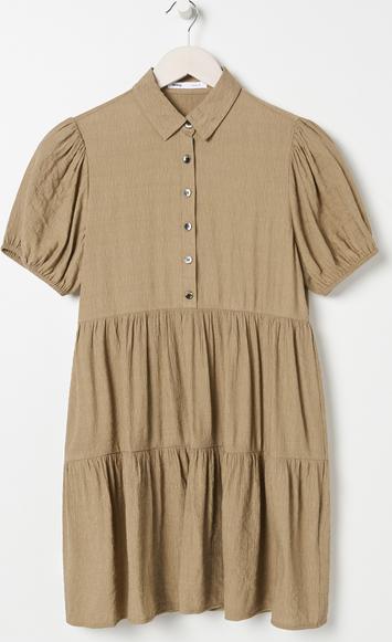 Zielona sukienka Sinsay koszulowa