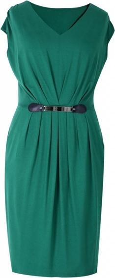 Zielona sukienka Sklep XL-ka