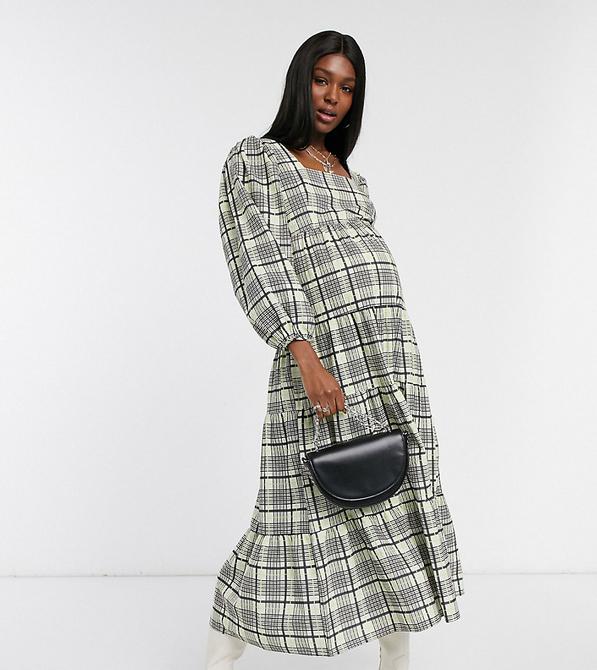 Zielona sukienka Topshop Maternity