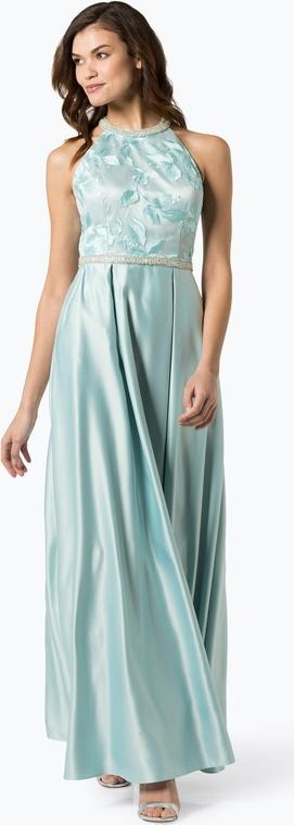 Zielona sukienka VM prosta bez rękawów